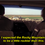 I expected the Rocky Mountains to be a little rockier than this