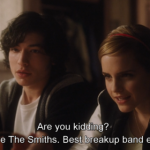 Are you kidding? I love The Smiths. Best breakup band ever.