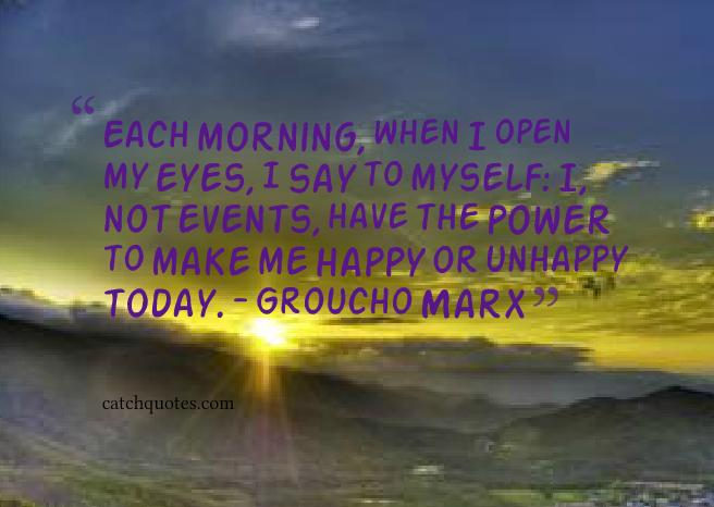 3 good morning quotes