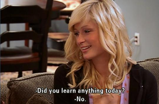 3 paris hilton quotes