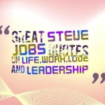 Great steve jobs quotes on life,work,love and leadership