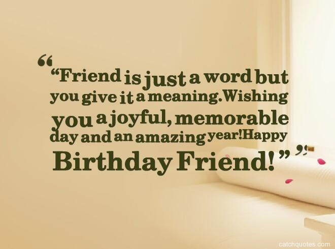 Quotes For Friends For Birthday : Birthday quotes for friends with images