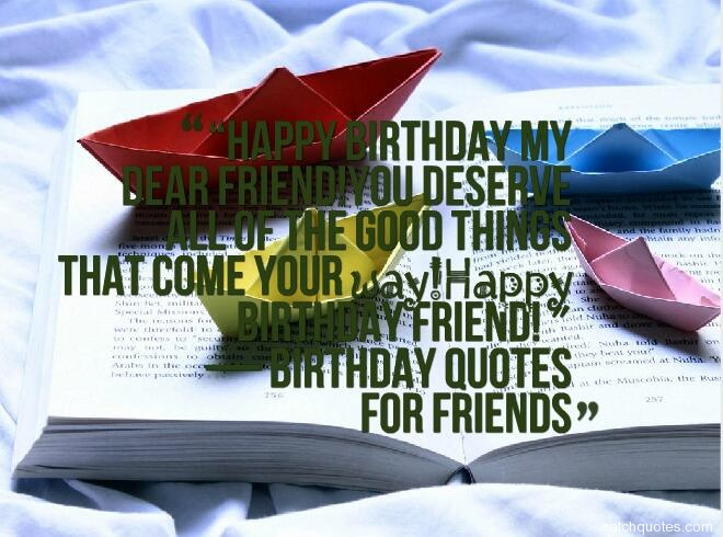 birthday quotes for friends 16