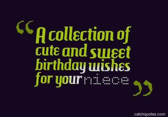 birthday wishes for your niece