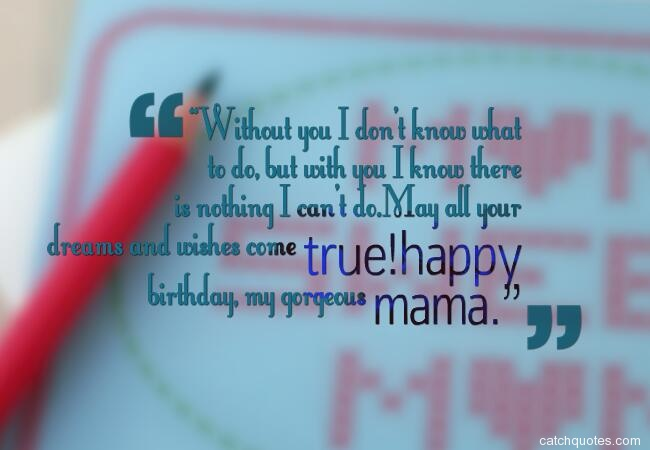 1 birthday wishes for mom