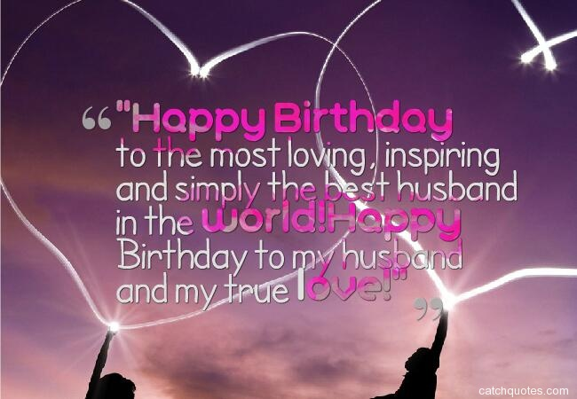 13 birthday wishes for husband