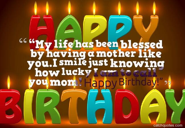 15 birthday wishes for mom