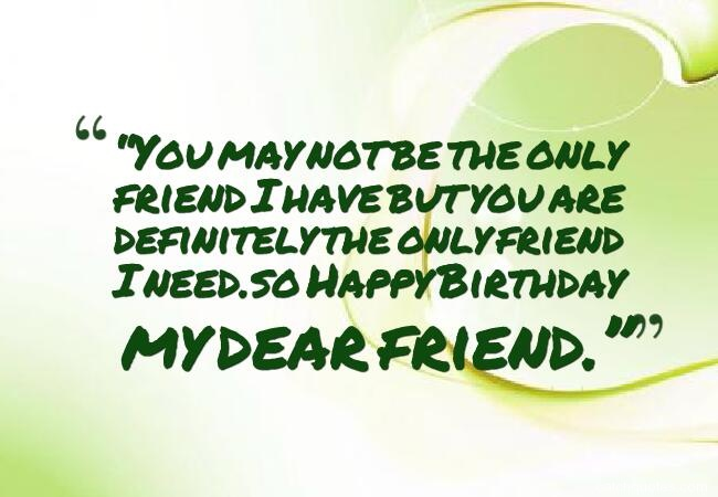 25 birthday wishes for friends