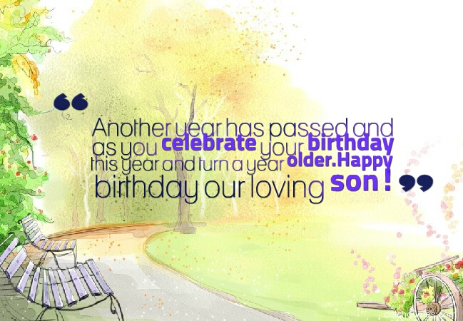 29 birthday wishes for son