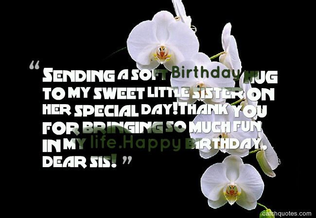 49 birthday wishes for sister