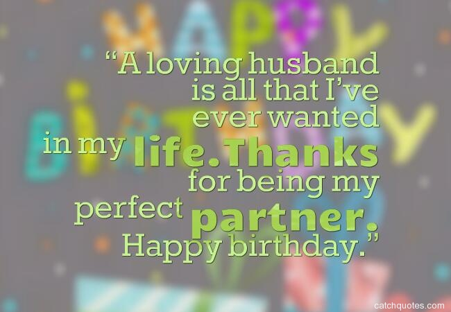 5 birthday wishes for husband