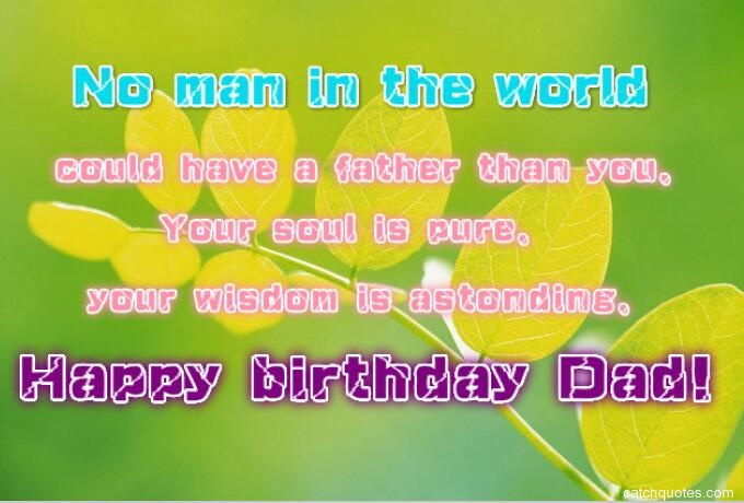 birthday wishes for dad 1