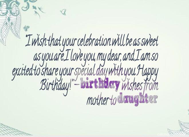 birthday wishes for daughter 15