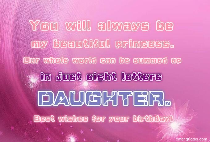 birthday wishes for daughter 19
