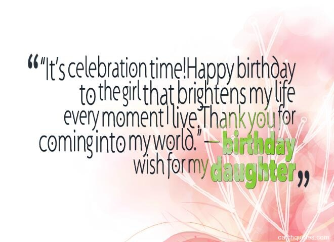 birthday wishes for daughter 25
