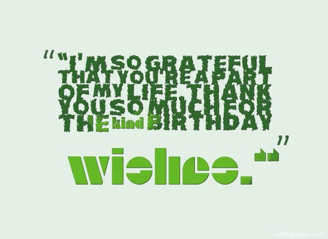 thank you for birthday wishes 2