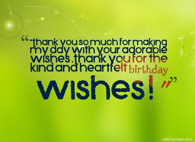 thank you for birthday wishes 20