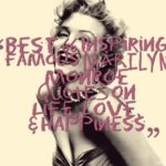 Best 66 Inspiring Famous Marilyn Monroe Quotes on Life, Love, & Happiness