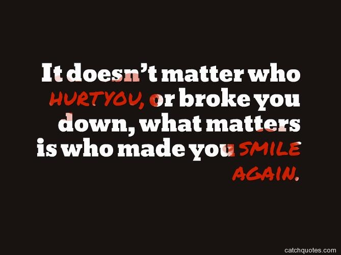 live them who hurt you