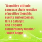 A positive attitude causes a chain reaction