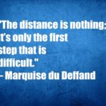 The distance is nothing